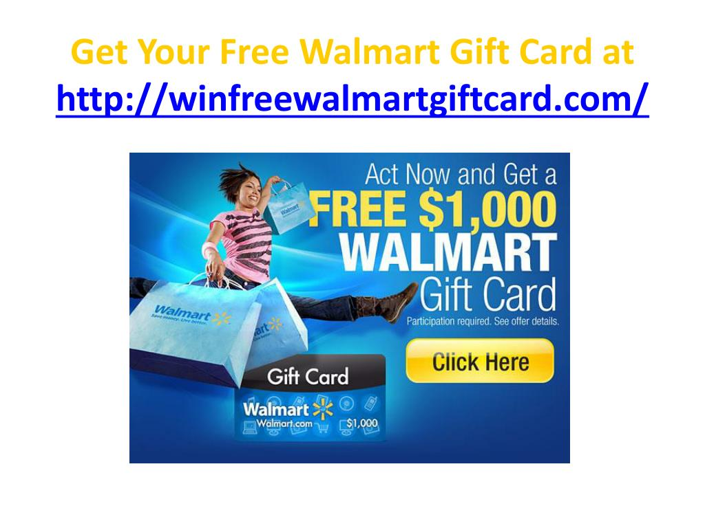 get your free walmart gift card at http winfreewalmartgiftcard com l.