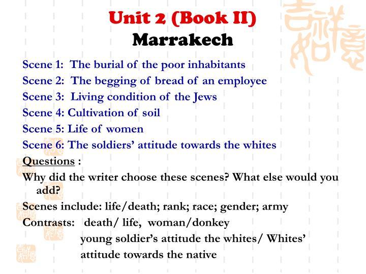 Unit 2 (Book II)