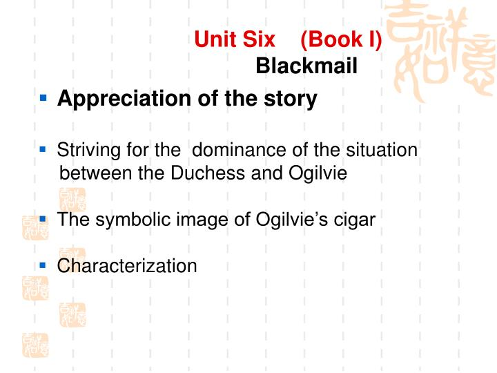 Unit Six    (Book I)