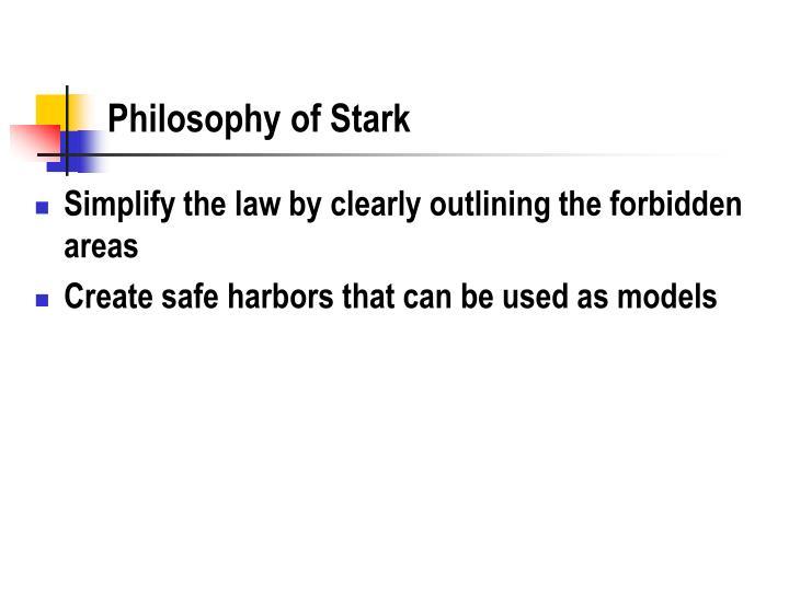 Philosophy of Stark
