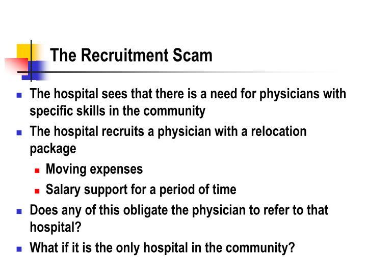 The Recruitment Scam
