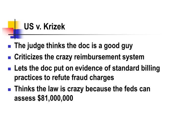 US v. Krizek