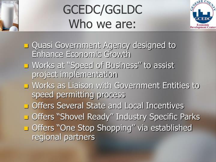 GCEDC/GGLDC