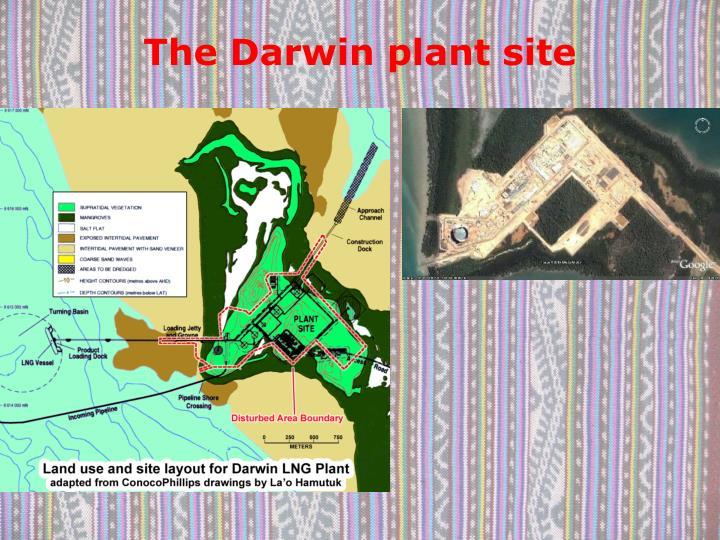 The Darwin plant site
