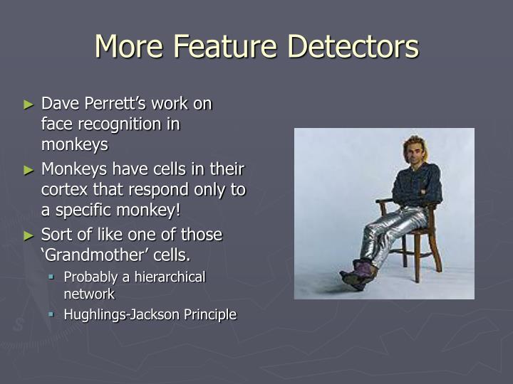 More Feature Detectors