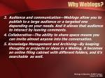 why weblogs1