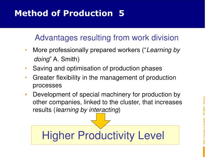 Method of Production  5