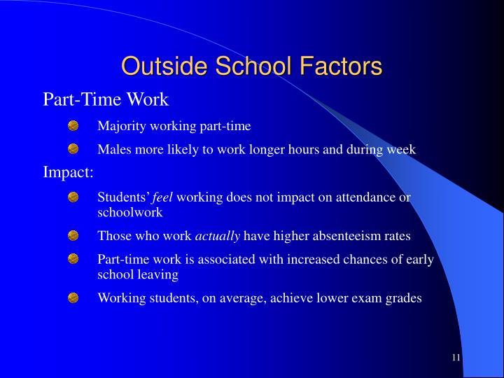 Outside School Factors