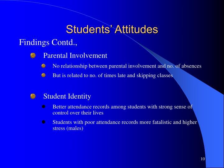 Students' Attitudes