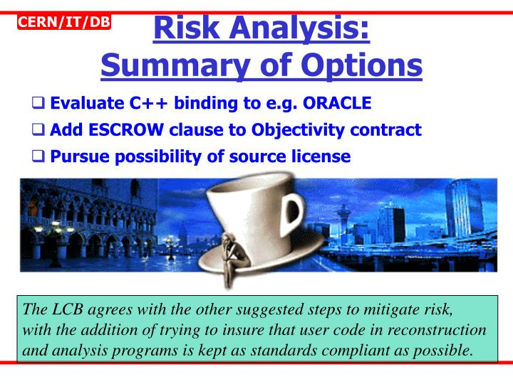 Risk Analysis: