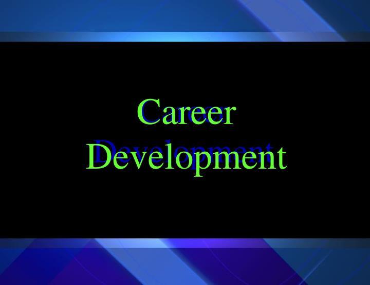 career development n.