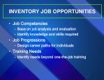 inventory job opportunities