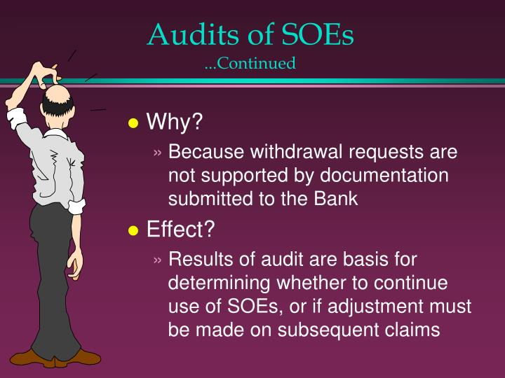 Audits of SOEs