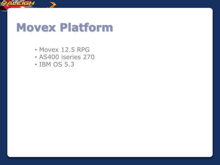 Movex platform