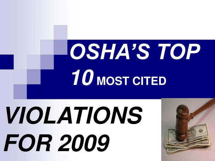 osha s top 10 most cited n.