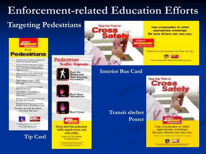 Enforcement-related Education Efforts