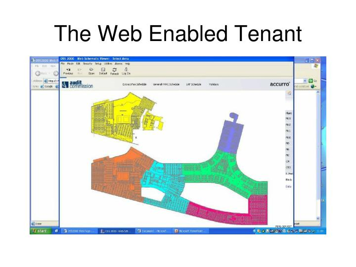 The Web Enabled Tenant