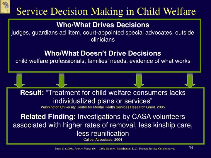 Service Decision Making in Child Welfare