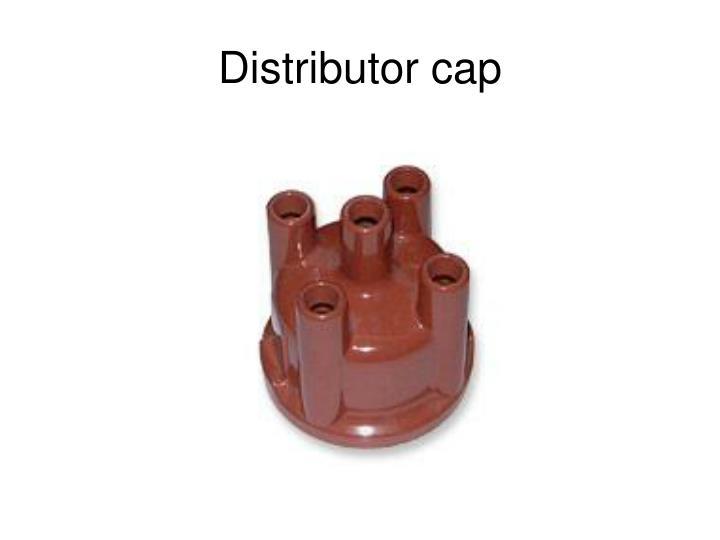 Distributor cap