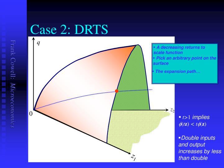 Case 2: DRTS