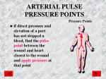 arterial pulse pressure points