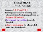 treatment drug abuse