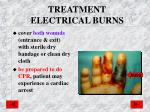 treatment electrical burns1