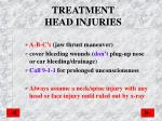 treatment head injuries