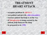 treatment heart attack