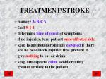 treatment stroke