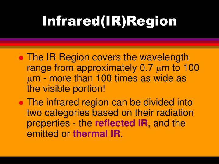 Infrared(IR)Region