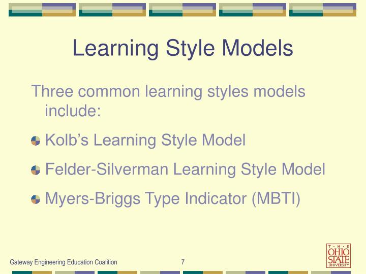 Learning Style Models