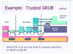 example trusted grub ibm 05