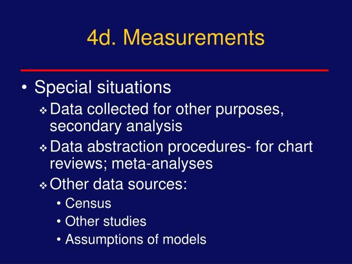 4d. Measurements