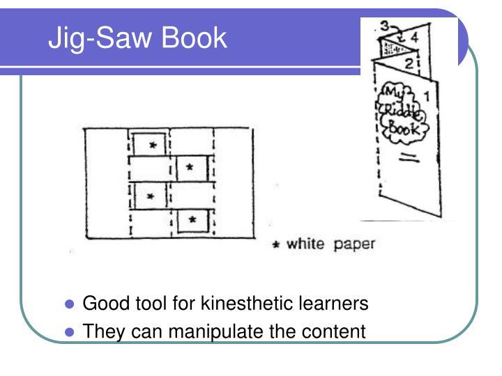 Jig-Saw Book
