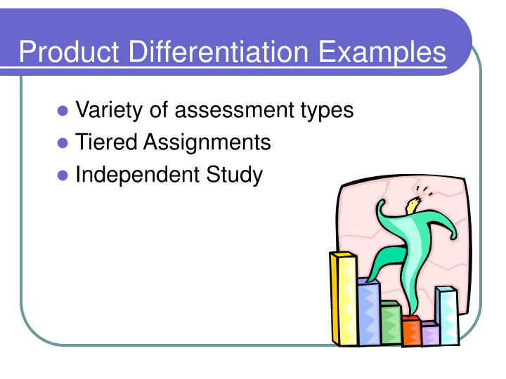 Product Differentiation Examples