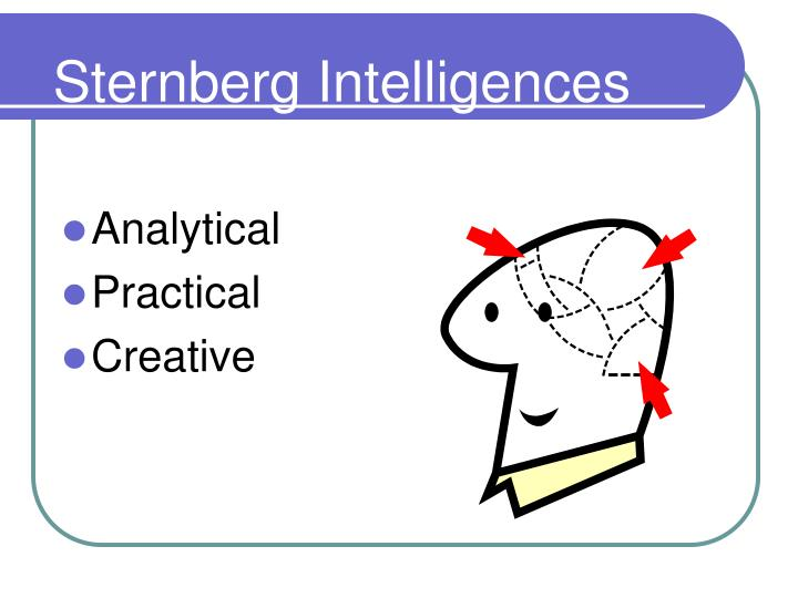 Sternberg Intelligences