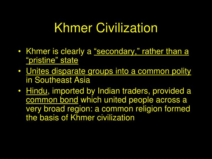 Khmer Civilization