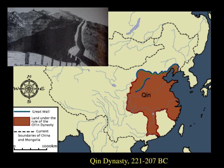 Qin Dynasty, 221-207 BC