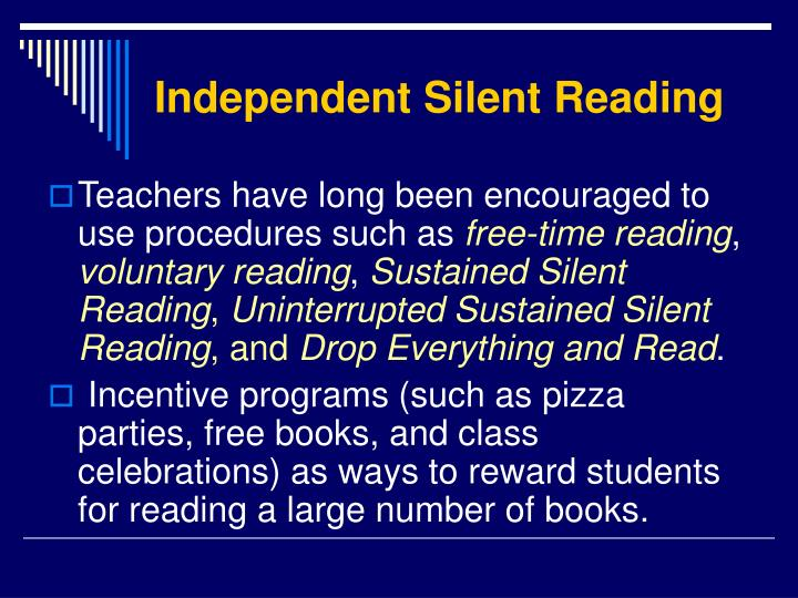 Independent Silent Reading