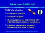 what does pamis do