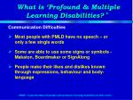 what is profound multiple learning disabilities2