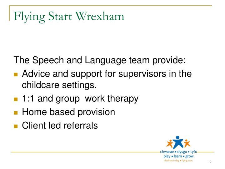Flying Start Wrexham