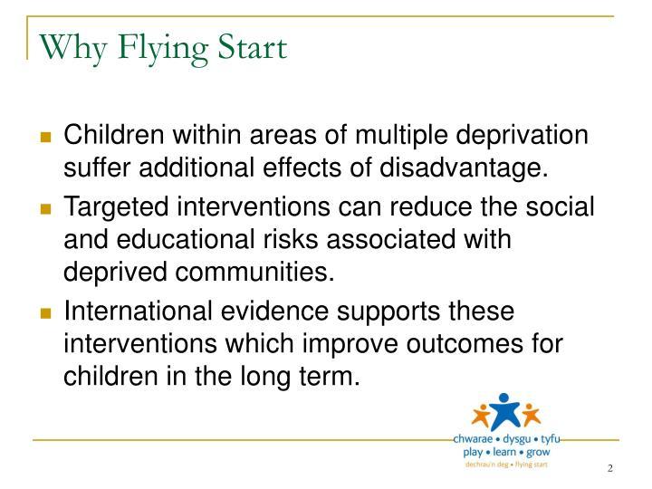 Why flying start
