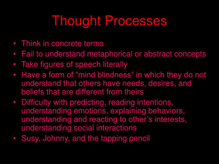 Thought Processes