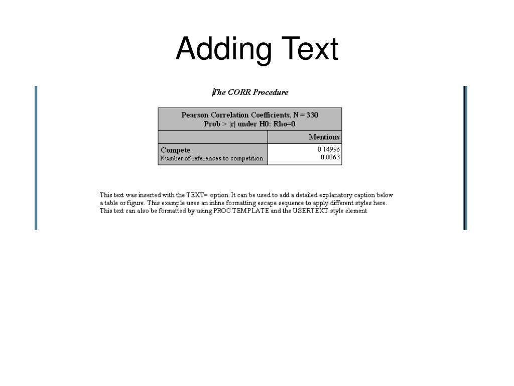 PPT - ODS: Advanced Topics PowerPoint Presentation - ID:1289555