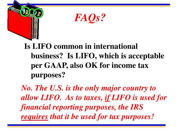 FAQs?