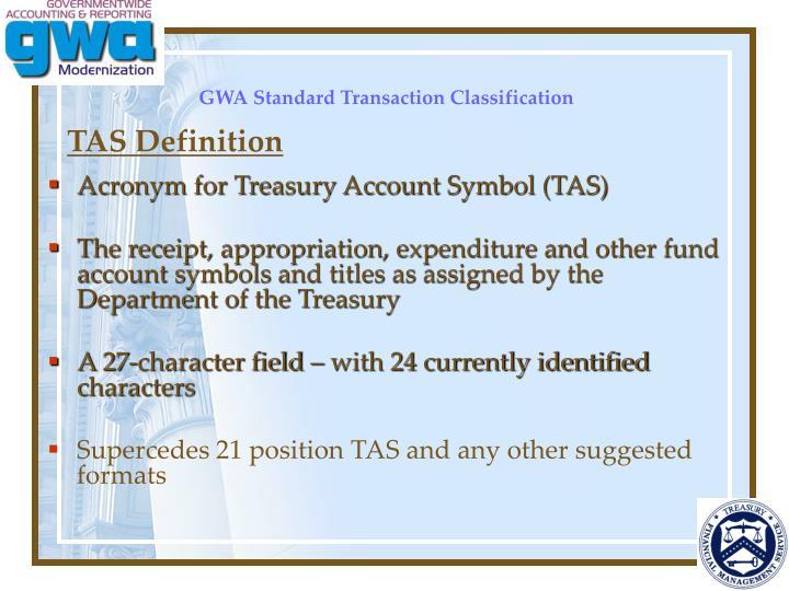 TAS Definition