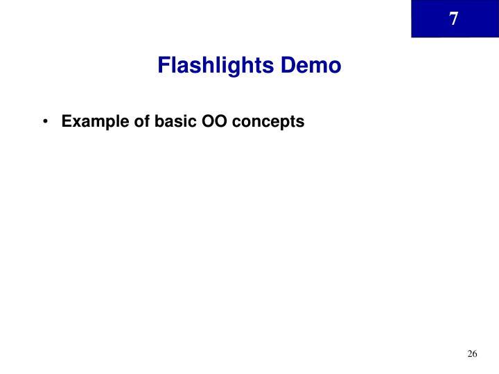 Flashlights Demo