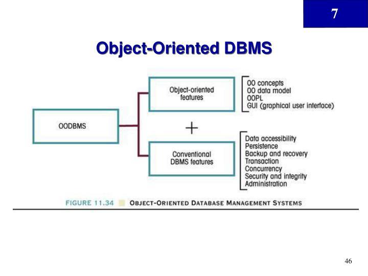 Object-Oriented DBMS